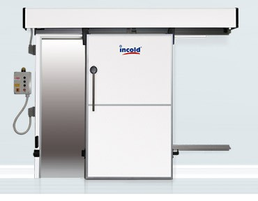 Automatic isothermal sliding doors mod. sca
